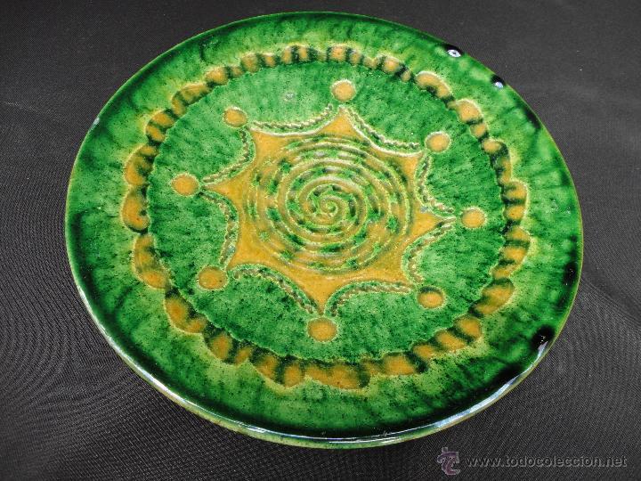 ALFARERÍA ANDALUZA: PLATO DE TITO DE UBEDA (Antigüedades - Porcelanas y Cerámicas - Úbeda)