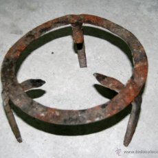 Antigüedades: ANTIGUAS ESTREVES DE HIERRO. Lote 43884609