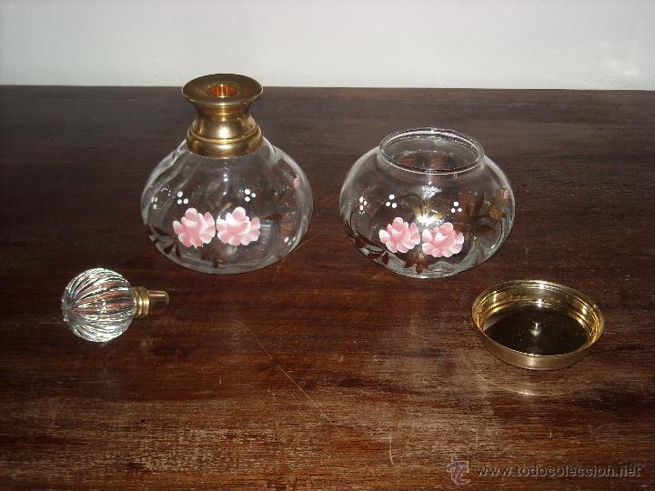 Antigüedades: Dos frasco de tocador - Foto 3 - 43892049