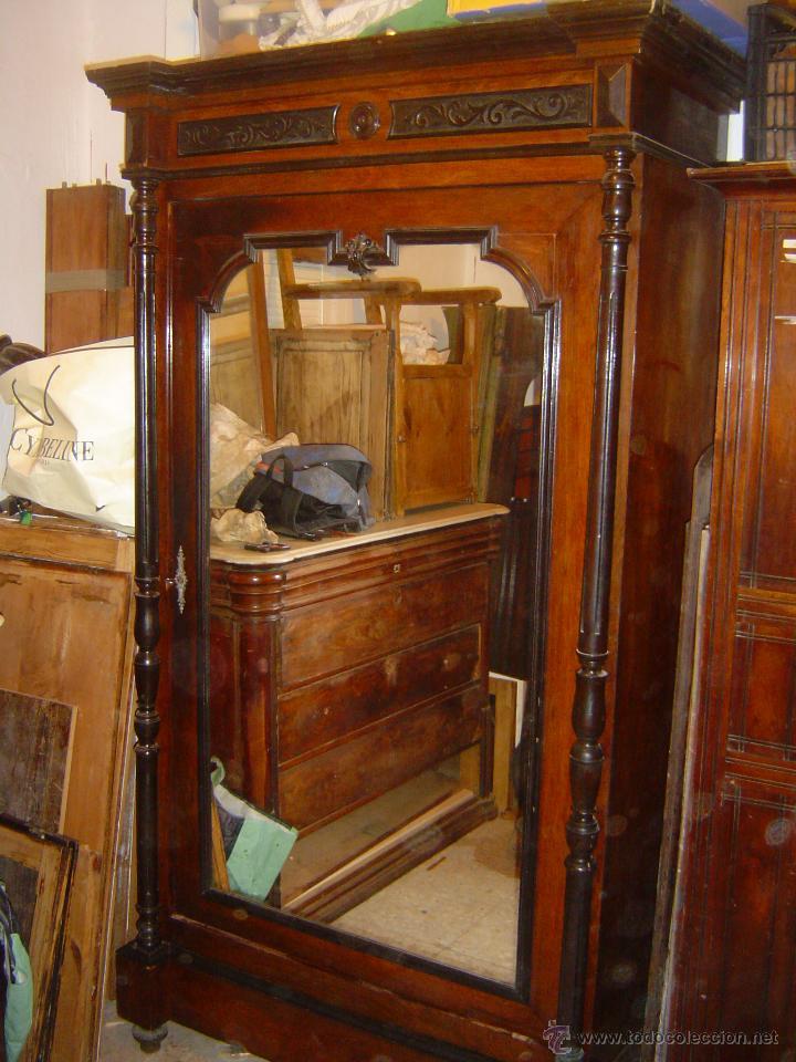 Artesanato Gaucho Historia ~ antiguo armario alfonsino madera de cedro c Comprar Armarios Antiguos en todocoleccion