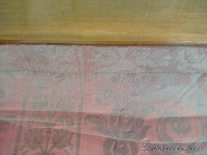 Antigüedades: MESA VITRINA EXPOSITOR MOSTRADOR CAOBA PATA GARRA - Foto 14 - 43972910