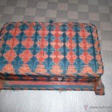 Antigüedades: CAJA JOYERO DE MADERA HILADA. Lote 43973848