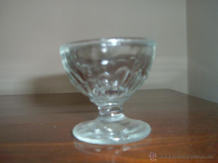 Antigüedades: Tres antiguas copitas de cristal - Foto 2 - 43974158