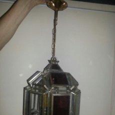 Antigüedades: LAMPARA ESTILO GRANADINA MOZARABE. TAMAÑO LAMPARA 40X24 CM. Lote 43979971