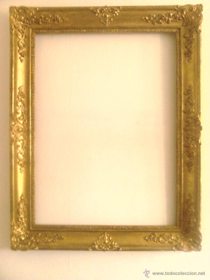 Gran Marco Dorado Espejo Cuadro 127 X 100 Comprar