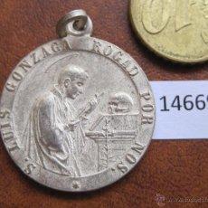 Antigüedades: MEDALLA RELIGIOSA, SAN LUIS GONZAGA. Lote 44017408