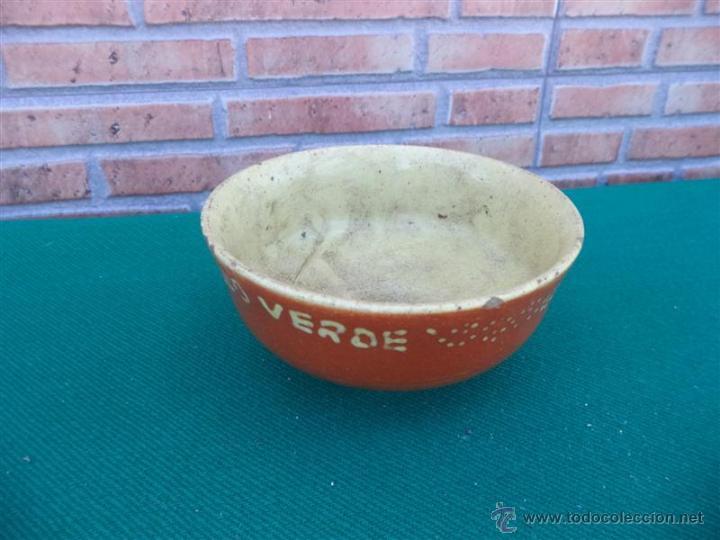 CUENCO DE BARRO ANTIGUO (Antigüedades - Porcelanas y Cerámicas - Otras)