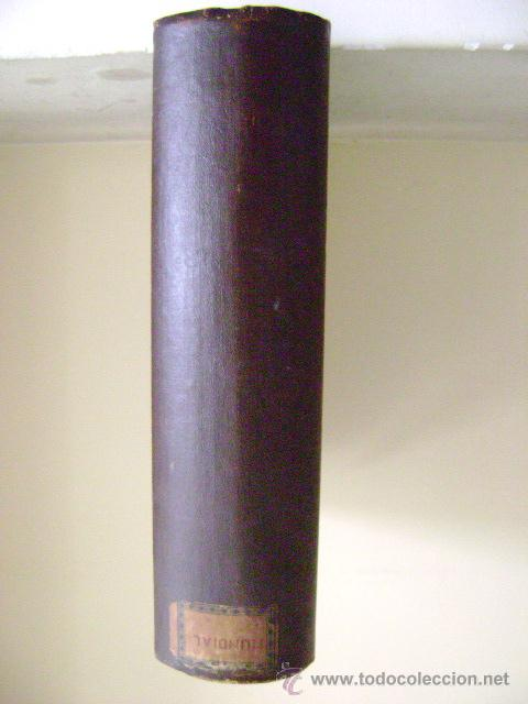 CAJA DE MADERA EN FORMA DE LIBRO (Antigüedades - Hogar y Decoración - Cajas Antiguas)