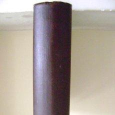 Antigüedades: CAJA DE MADERA EN FORMA DE LIBRO. Lote 44022040