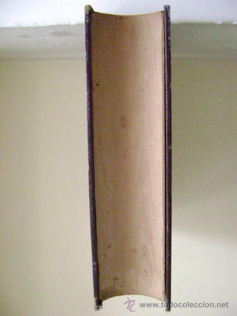 Antigüedades: CAJA DE MADERA EN FORMA DE LIBRO - Foto 2 - 44022040