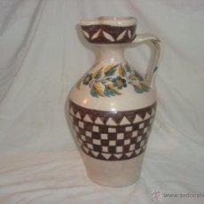 Antigüedades: INUSUAL JARRO O CANTARO EN CERAMICA DE ANDUJAR (JAEN). Lote 44030432