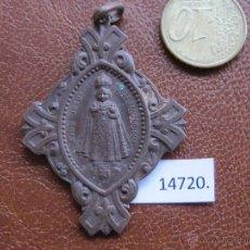 Antigüedades: MEDALLA RELIGIOSA, NIÑO JESUS DE PRAGA. Lote 44031974