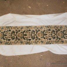 Antigüedades: TAPETE ANTIGUO ESTILO TERCIOPELO. Lote 44039522