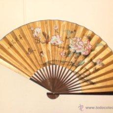 Antigüedades: GRAN ABANICO CHINO. Lote 44040287