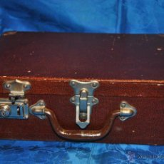 Antigüedades: ANTIGUA MALETA ESCOLAR DE MADERA. Lote 44044013