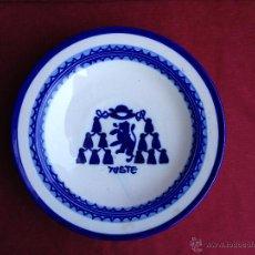 Antigüedades: ANTIGUO PLATO DE CERÁMICA DEL PUENTE DEL ARZOBISPO S.XX. Lote 44047179