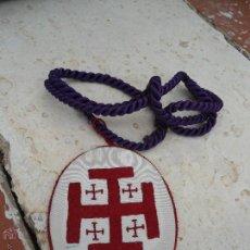 Antigüedades: ANTIGUO ESCAPULARIO BORDADO.. Lote 44082727
