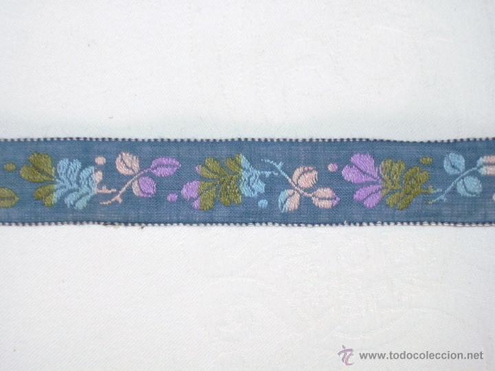 cinta de algodón bordada con dibujo de flores, - Comprar Moda ...