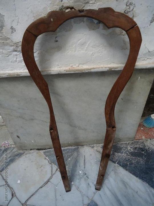 Antigua silla madera tallada para restaurar comprar sillas antiguas en todocoleccion 53306927 - Restaurar sillas de madera ...