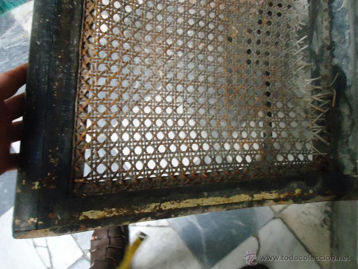 Antigüedades: antigua silla madera tallada para restaurar, - silla - talla pan de oro - o pintada mano - Foto 9 - 44086758