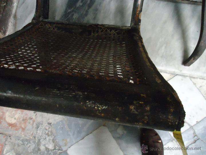 Antigüedades: antigua silla madera tallada para restaurar, - silla - talla pan de oro - o pintada mano - Foto 10 - 44086758