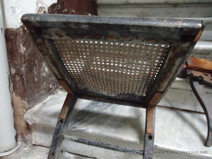 Antigüedades: antigua silla madera tallada para restaurar, - silla - talla pan de oro - o pintada mano - Foto 17 - 44086758