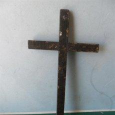 Antigüedades: CRUZ ANTIGUA DE MADERA. Lote 44087007