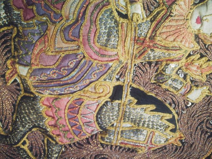 Antigüedades: TAPIZ THAI - Foto 3 - 24608137