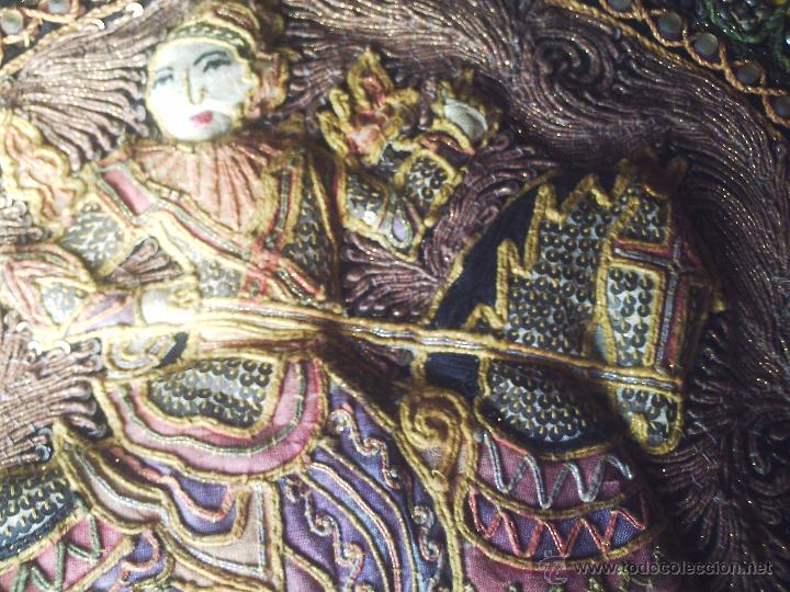 Antigüedades: TAPIZ THAI - Foto 4 - 24608137