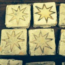 Antigüedades: ANTIGUAS 12 OLAMBRILLAS DE TRIANA SEVILLA. Lote 44120786