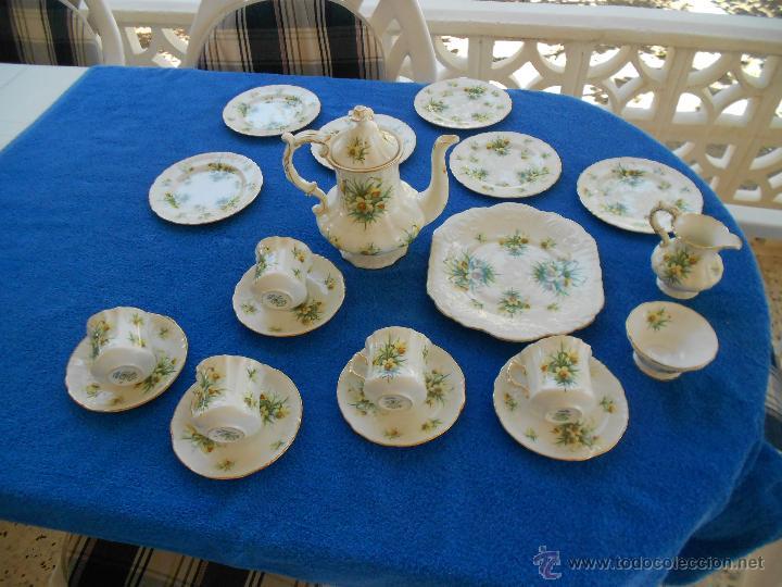 Juego de cafe de porcelana ingles comprar porcelana - Porcelana inglesa antigua ...