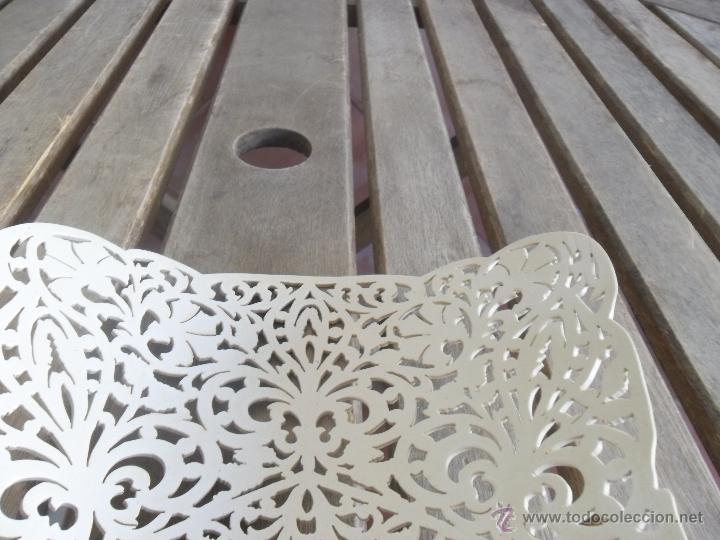 Antigüedades: GRAN PEINETA EN COLOR HUESO CALADA - Foto 8 - 44140901