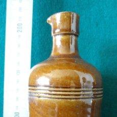 Antigüedades: ANTIGUA BOTELLA DE GRES CON PICO DE VERTER - ENCRE JAPONAISE - ANTOINE & FILS. Lote 44161854