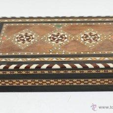Antigüedades: CAJITA GRANADINA DE TARACEA 15X25 CM. VER FOTOS ANEXAS. Lote 44162611