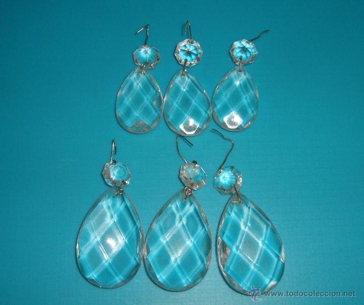 Lagrimas de cristal lamparas antiguas comprar objetos de iluminaci n antiguos en todocoleccion - Lamparas de cristal antiguas ...
