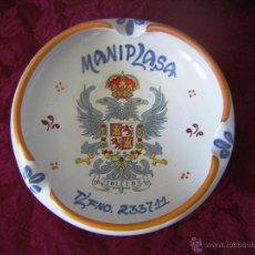 Antigüedades: ** GRAN CENICERO DE TALAVERA **. Lote 44174465