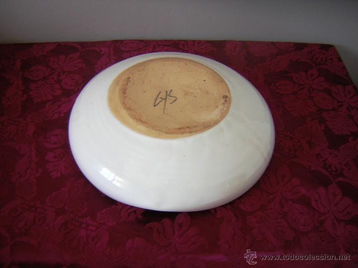 Antigüedades: ** GRAN CENICERO DE TALAVERA ** - Foto 3 - 44174465