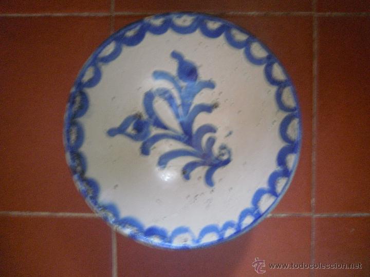 CERÁMICA, CUENCO DE FAJALAUZA. (Antigüedades - Porcelanas y Cerámicas - Fajalauza)