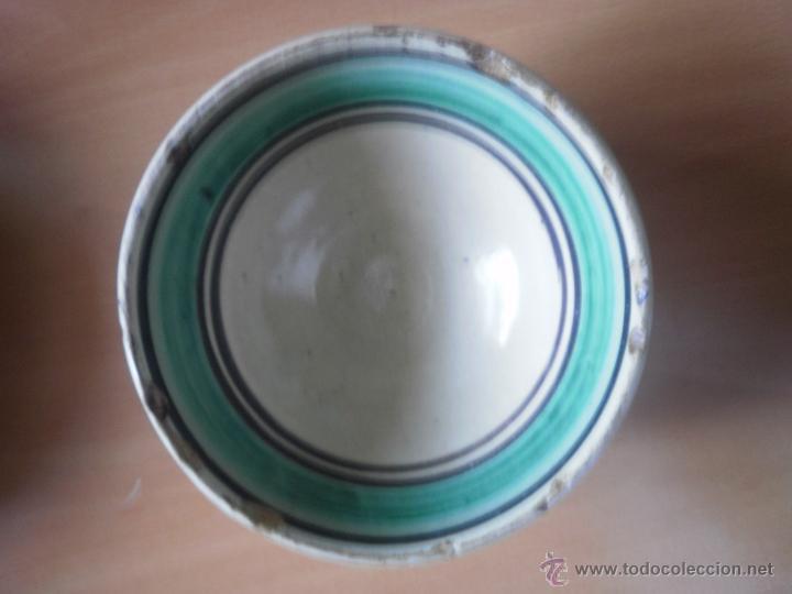 CUENCO DE LUCENA. (Antigüedades - Porcelanas y Cerámicas - Lucena)