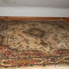Antigüedades: PRECIOSA ALFOMBRA PURA LANA 100%. Lote 44190626
