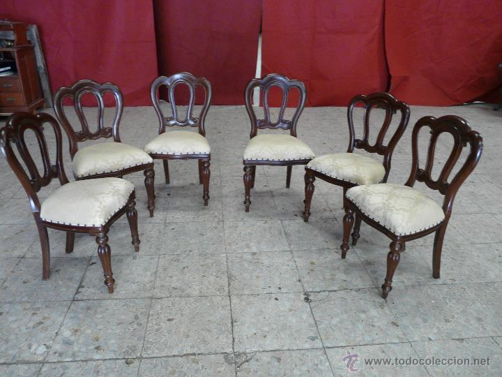 Antigüedades: SILLAS VICTORIANAS - Foto 5 - 44192595