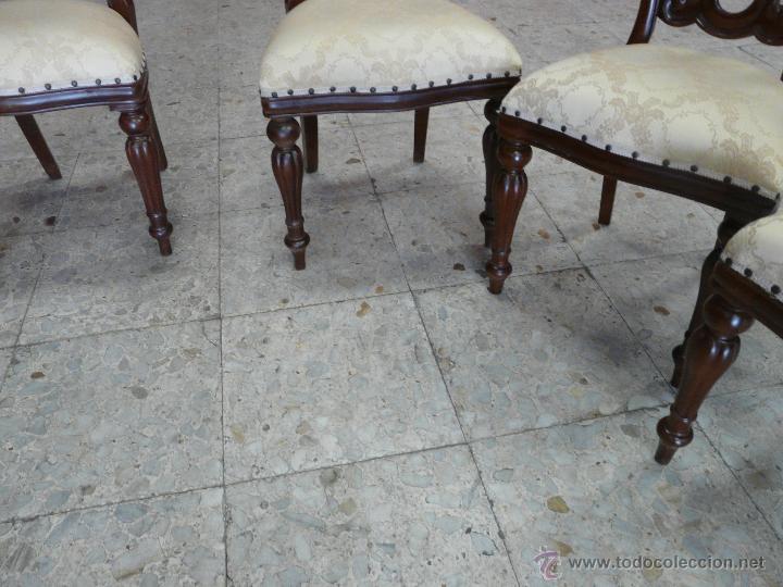 Antigüedades: SILLAS VICTORIANAS - Foto 7 - 44192595