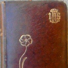 Antigüedades: MISAL MODERNISTA, AÑO 1909 EN CATALAN DEDICADO A LA VIRGEN DE MONTSERRAT-MON TRESOR-EN PIEL Y ORO. Lote 50356180