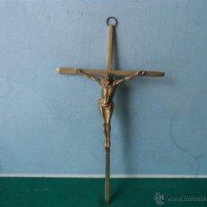 Antigüedades: CRUCIFIJO DE BRONCE. Lote 44207558