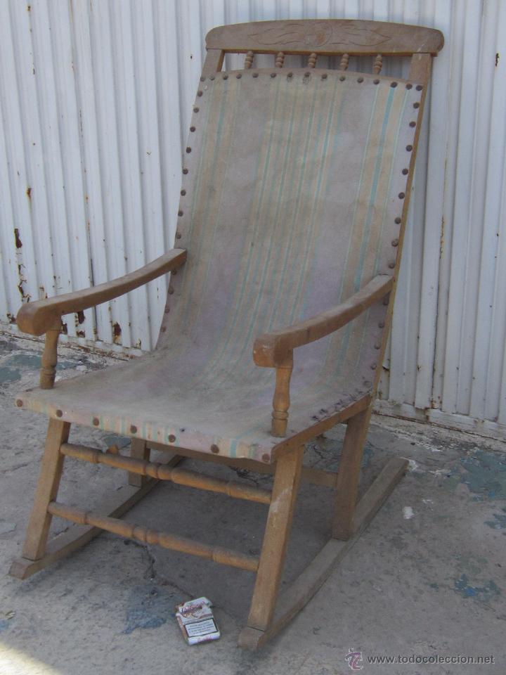 Mecedora antigua para restaurar comprar sillones - Sillones antiguos para restaurar ...