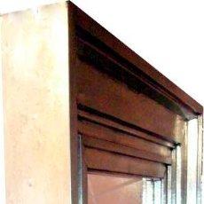 Antigüedades: POR SOLO 239,54€ ESTE GRAN ESPEJO ARTESANO DE PEDRAZA,(60CM X 60CM & 14 KG). Lote 30062516