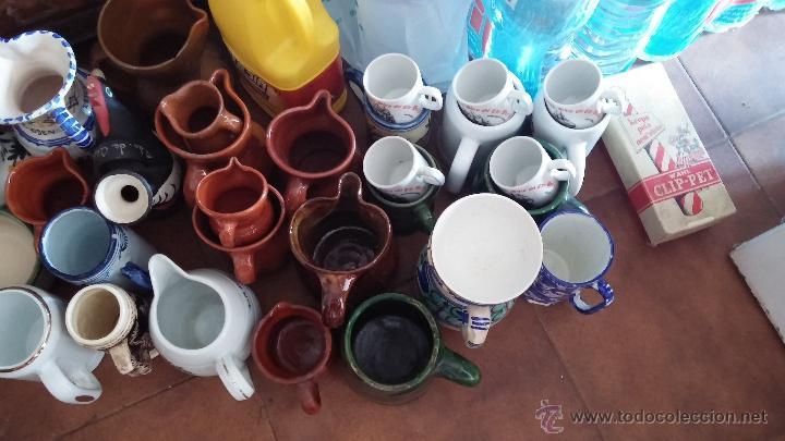 Antigüedades: Gran lote de jarras antiguas - Foto 2 - 44245643