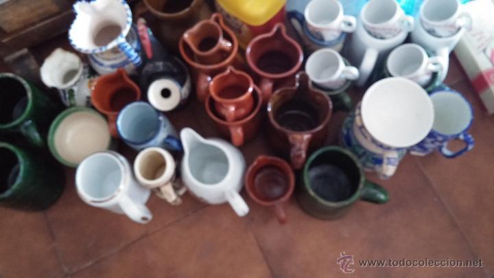 Antigüedades: Gran lote de jarras antiguas - Foto 3 - 44245643