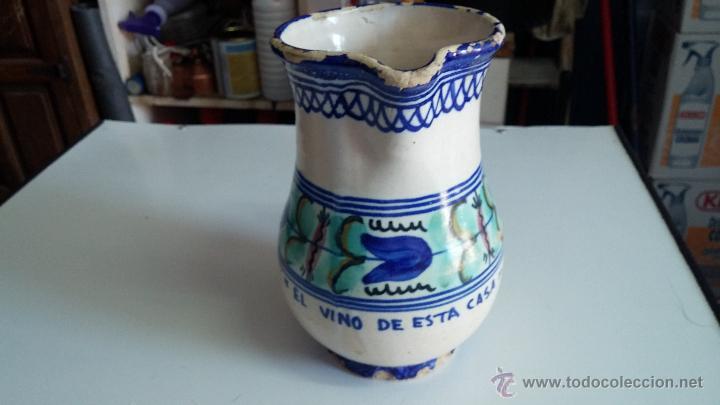 Antigüedades: Gran lote de jarras antiguas - Foto 17 - 44245643