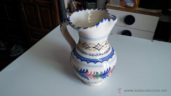 Antigüedades: Gran lote de jarras antiguas - Foto 19 - 44245643